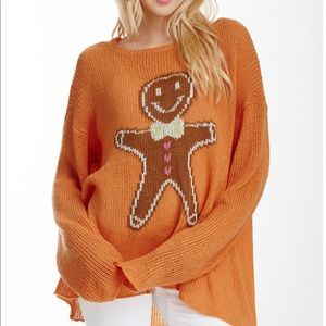 Vintage Wildfox Gingerbread Sweater
